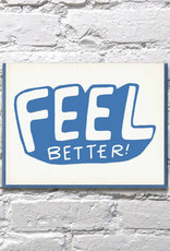 Bench Pressed Feel Better Card
