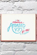 Bench Pressed Amazed By You Card