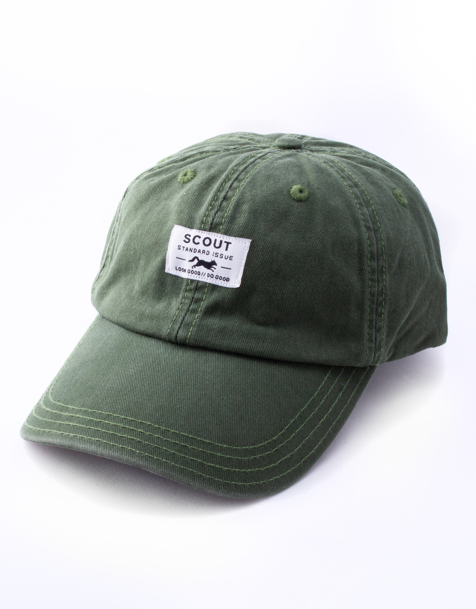 Scout Standard Issue Dad Hat - Loden Green