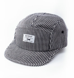 Scout Standard Issue 5-Panel Hat - Railroad Stripe