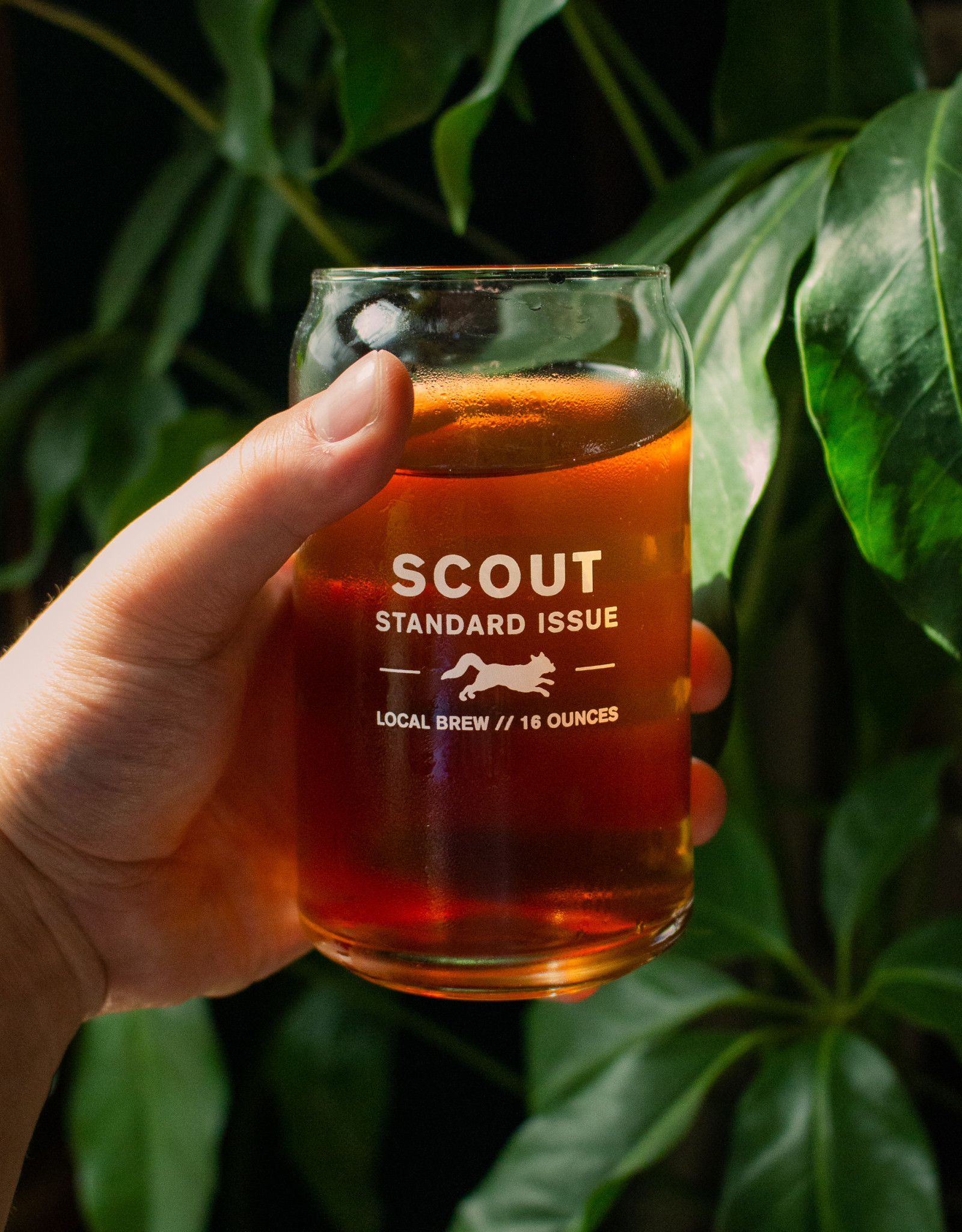 Scout Standard Issue Pint Glass