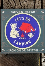 Good and Well Supply Company Let's Go Camping Patch