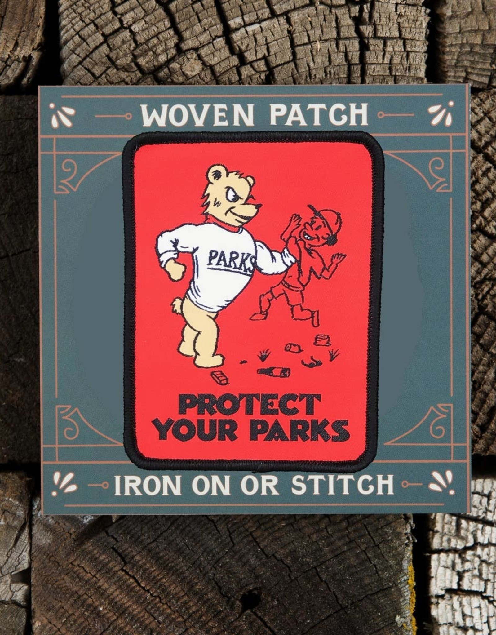 Good and Well Supply Company Protect Your Parks Patch