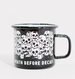 Pyknic Death Before Decaf Mug