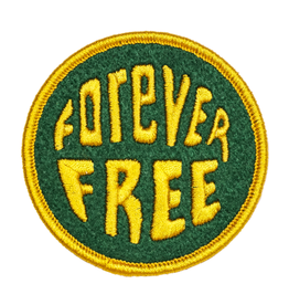 Oxford Pennant Forever Free Patch