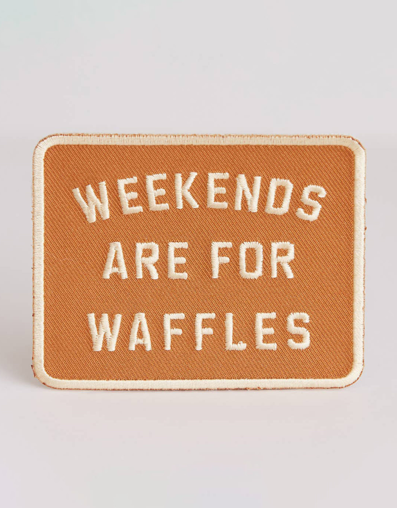 Pyknic Weekends Are For Waffles Patch