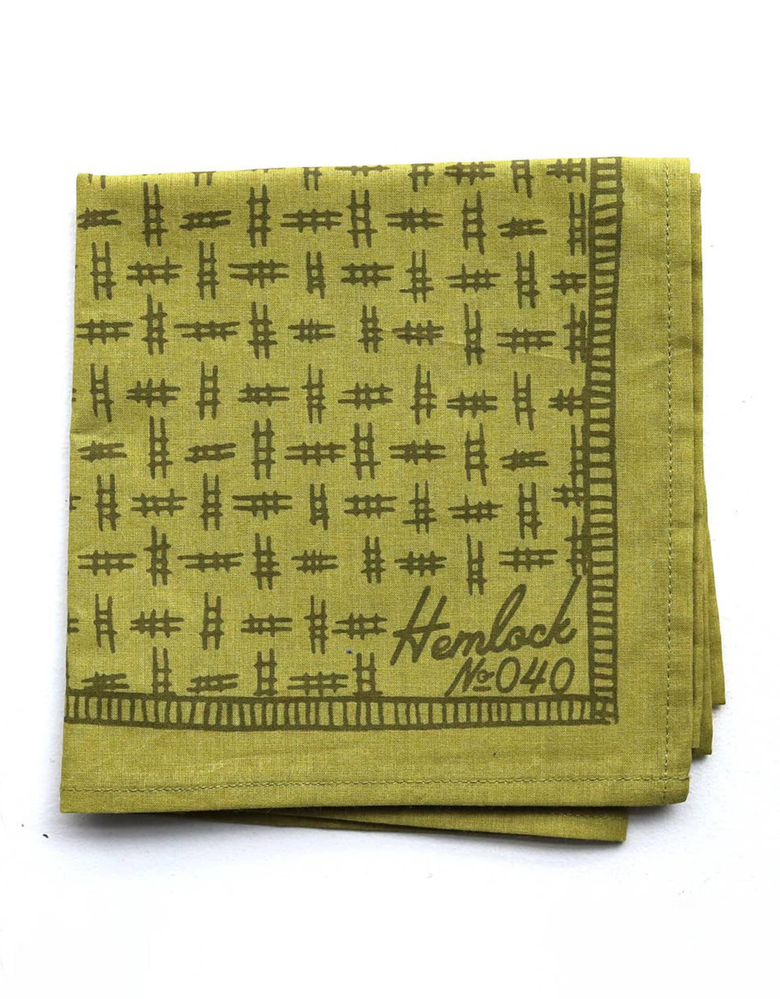 Hemlock No. 040 Hunter Bandana