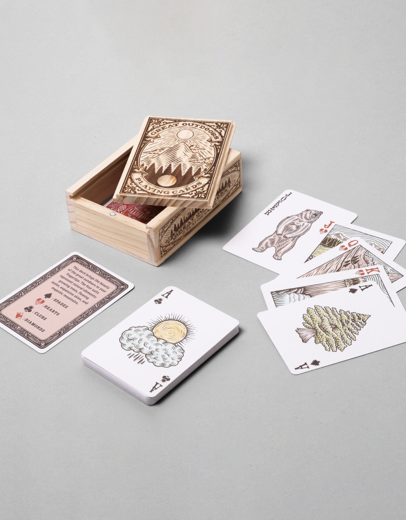 Hachette Great Outdoors Playing Cards