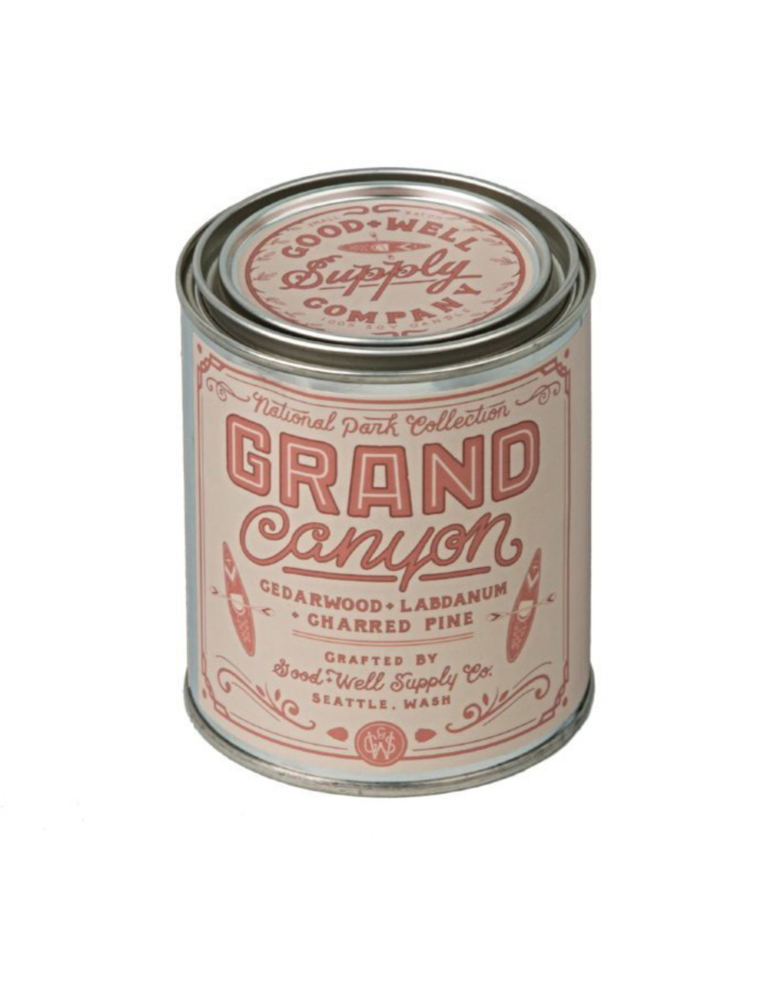 Good and Well Supply Company National Park Candle - Grand Canyon