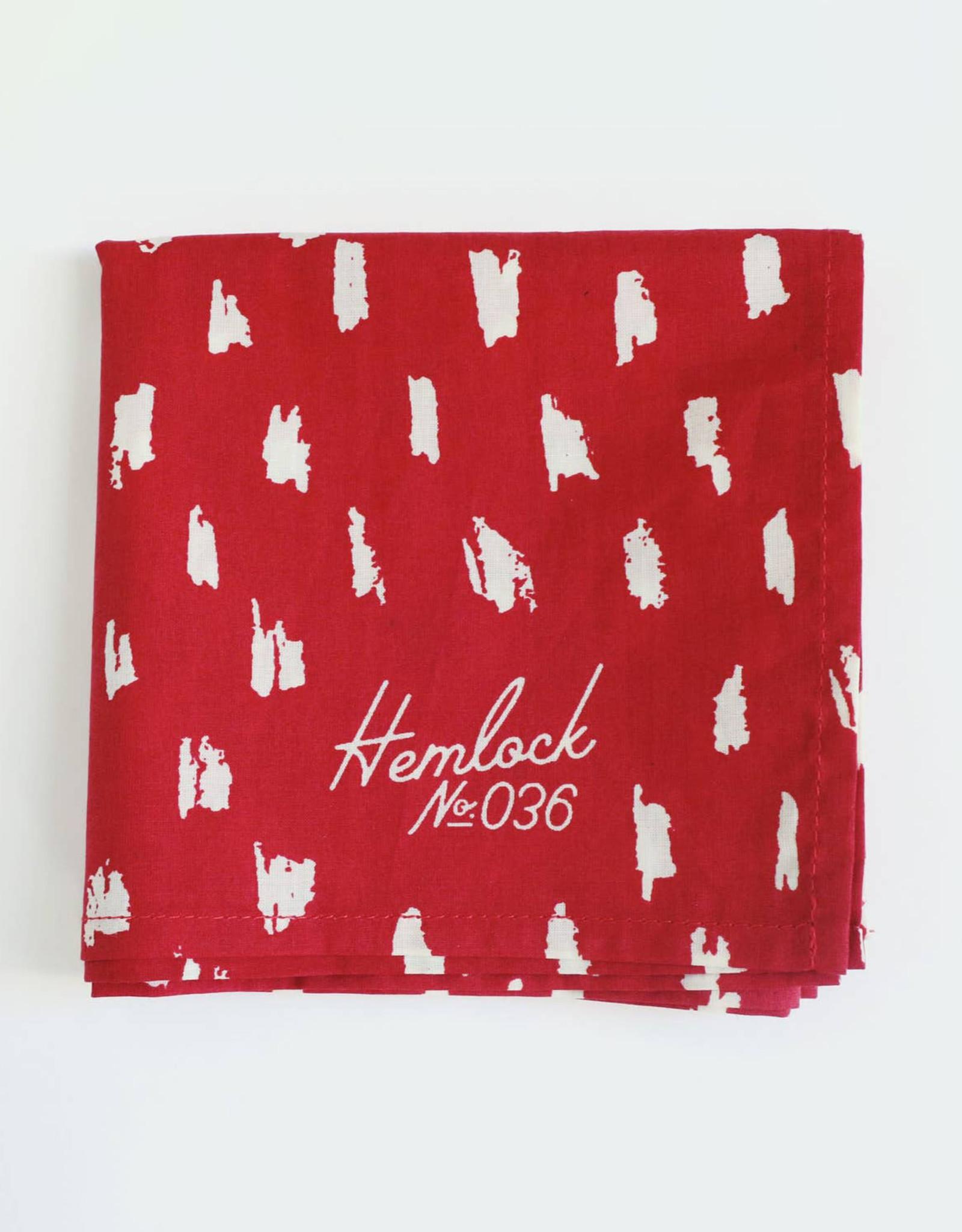 Hemlock No. 036 Scarlet Bandana