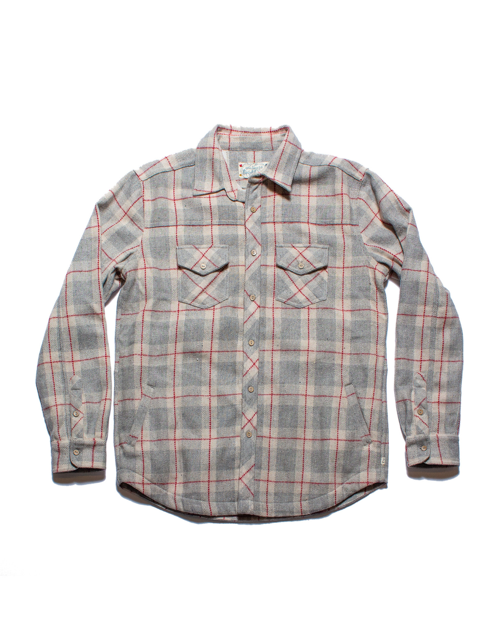One World Brothers Wool Shirt Jacket