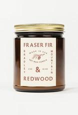 Bradley Mountain Fraser Fir & Redwood Candle