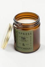 Bradley Mountain Cypress & Patchouli Candle