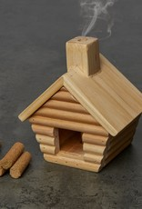 Kikkerland Little Cabin Incense Burner