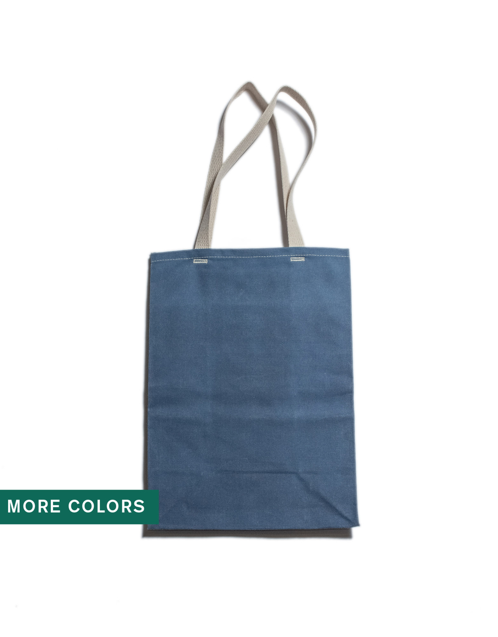 WAAM Waxed Canvas Grocery Tote