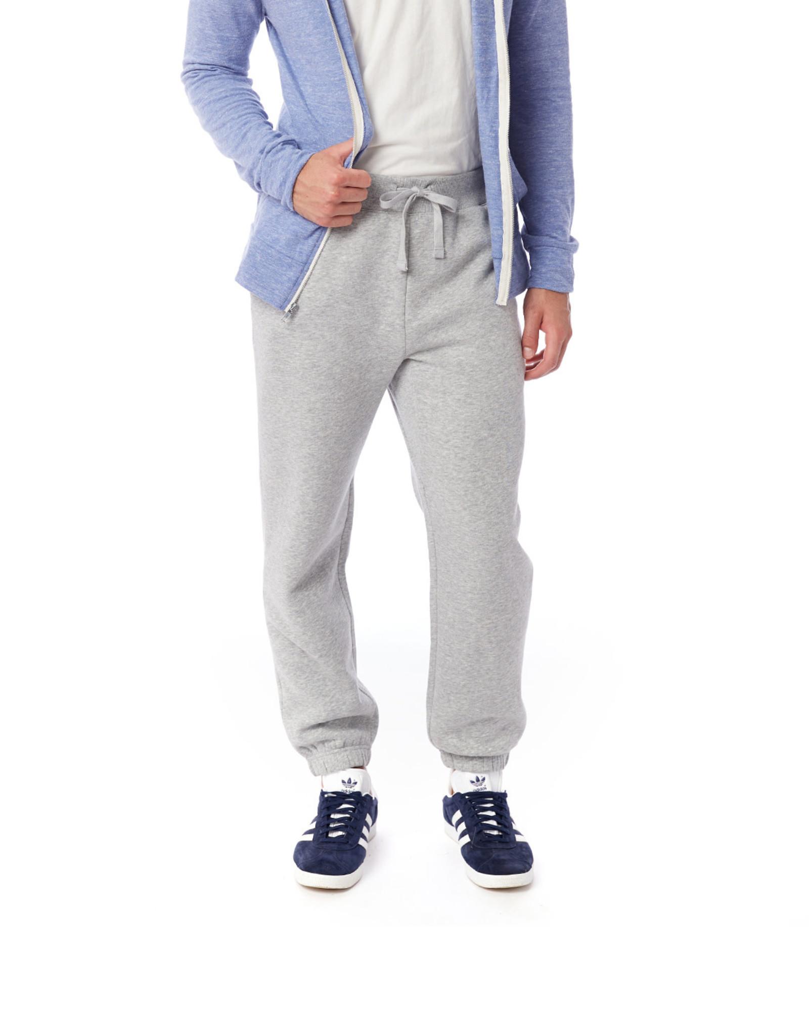 Alternative Apparel Eco-Cozy Fleece Sweatpant - Light Grey