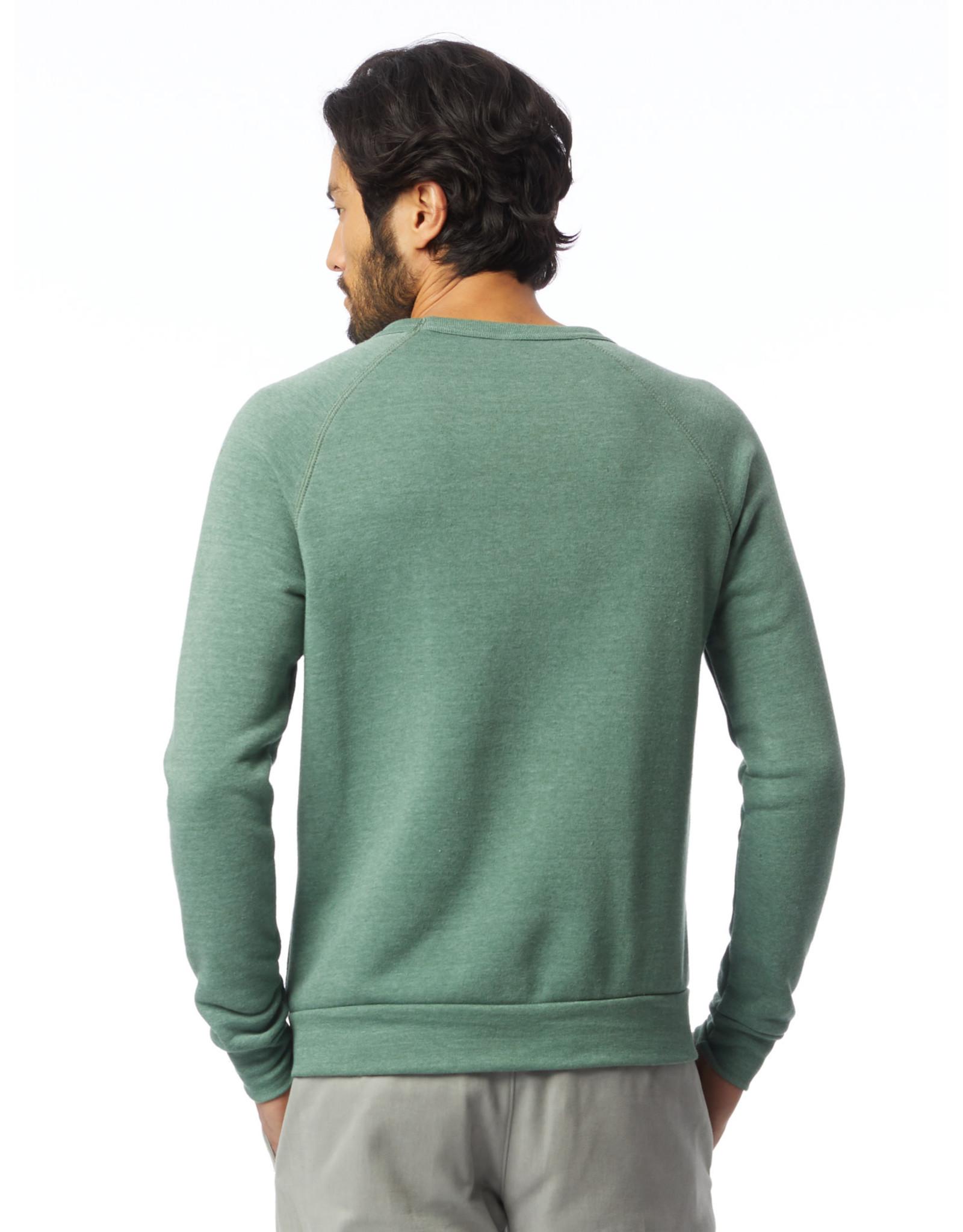 Alternative Apparel Eco-Fleece Champ Sweatshirt - Dusty Pine