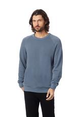 Alternative Apparel Washed Terry Champ Sweatshirt - Denim