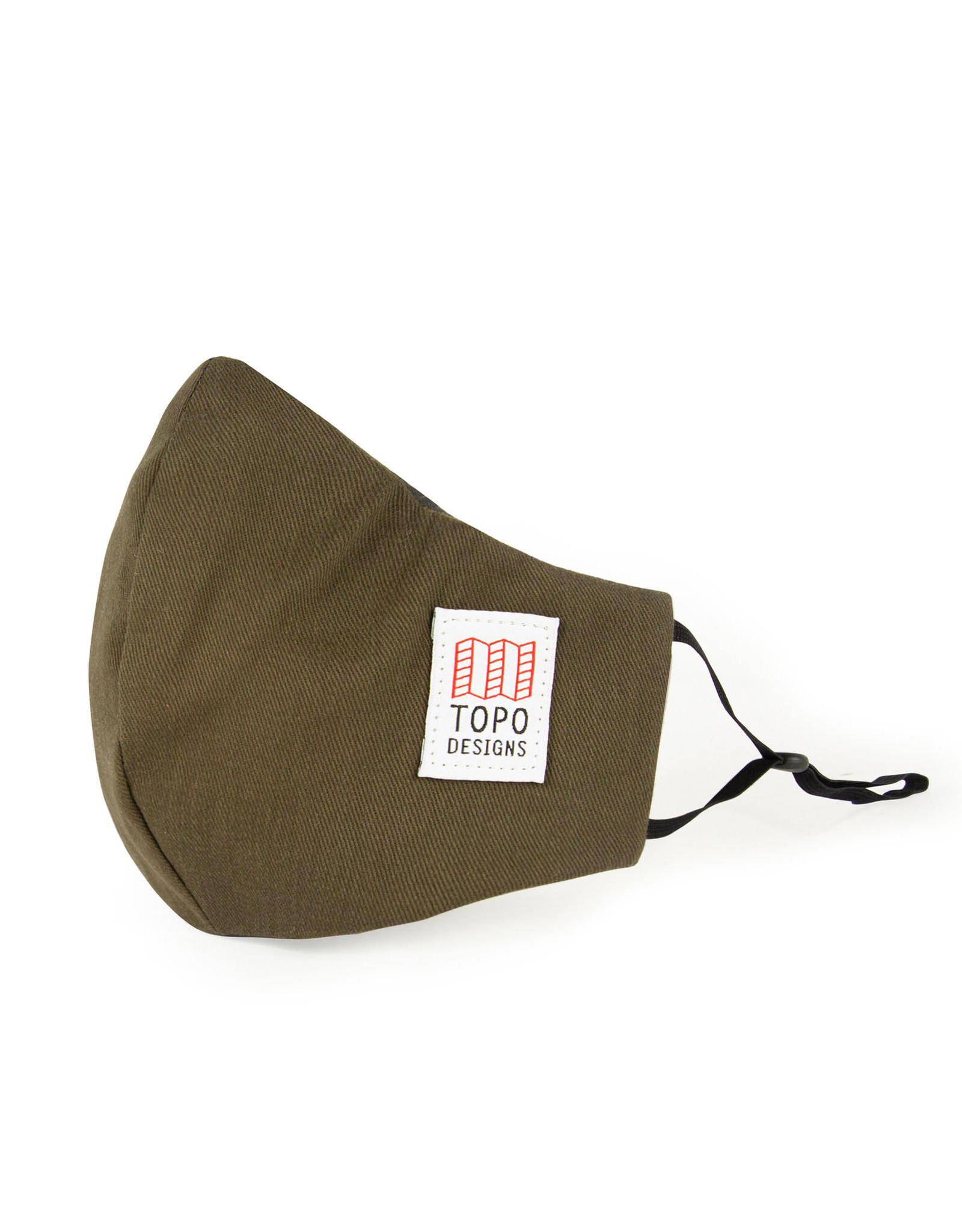 Topo Face Mask (olive/pewter)