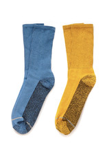 American Trench Silver Crew Sock