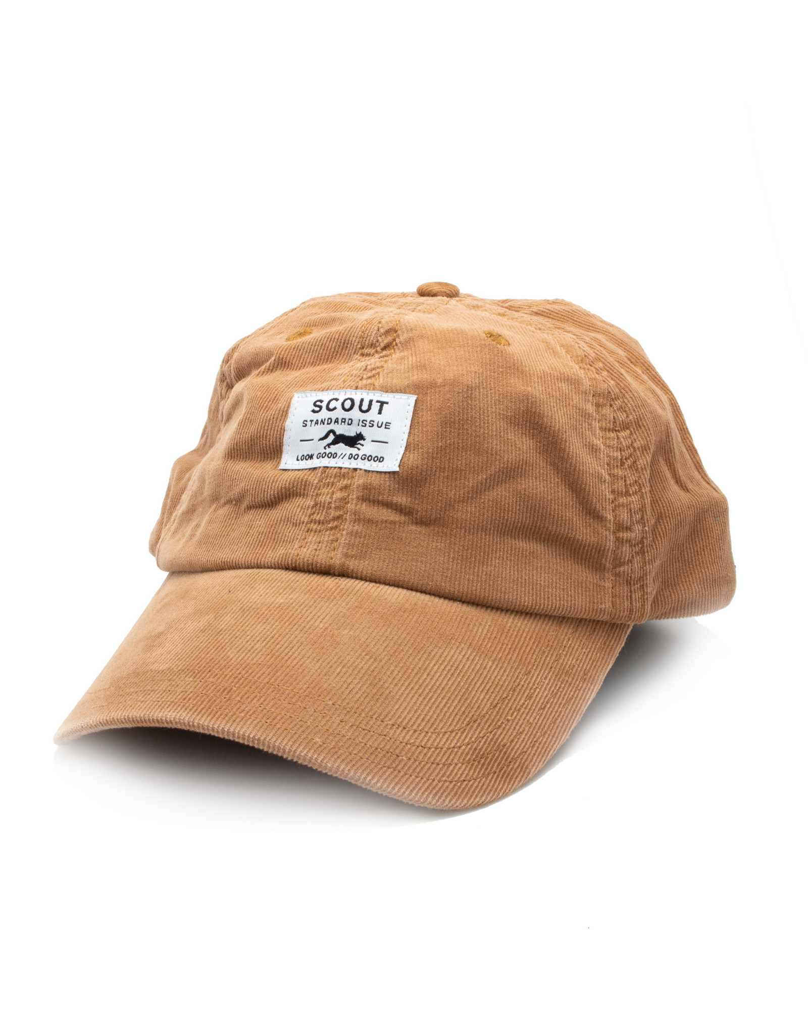 Scout Standard Issue Dad Hat - Tan Cord
