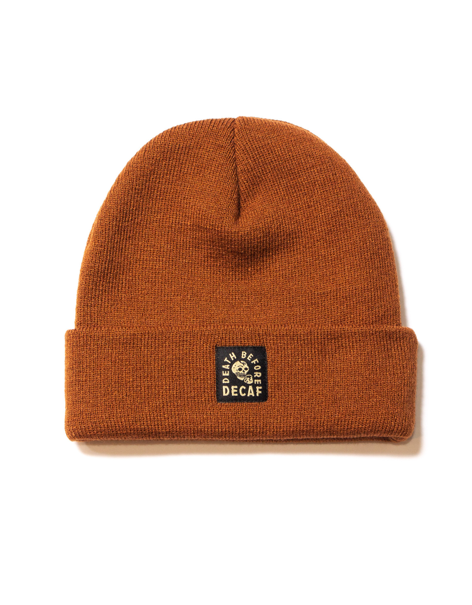 Pyknic Death Before Decaf Beanie