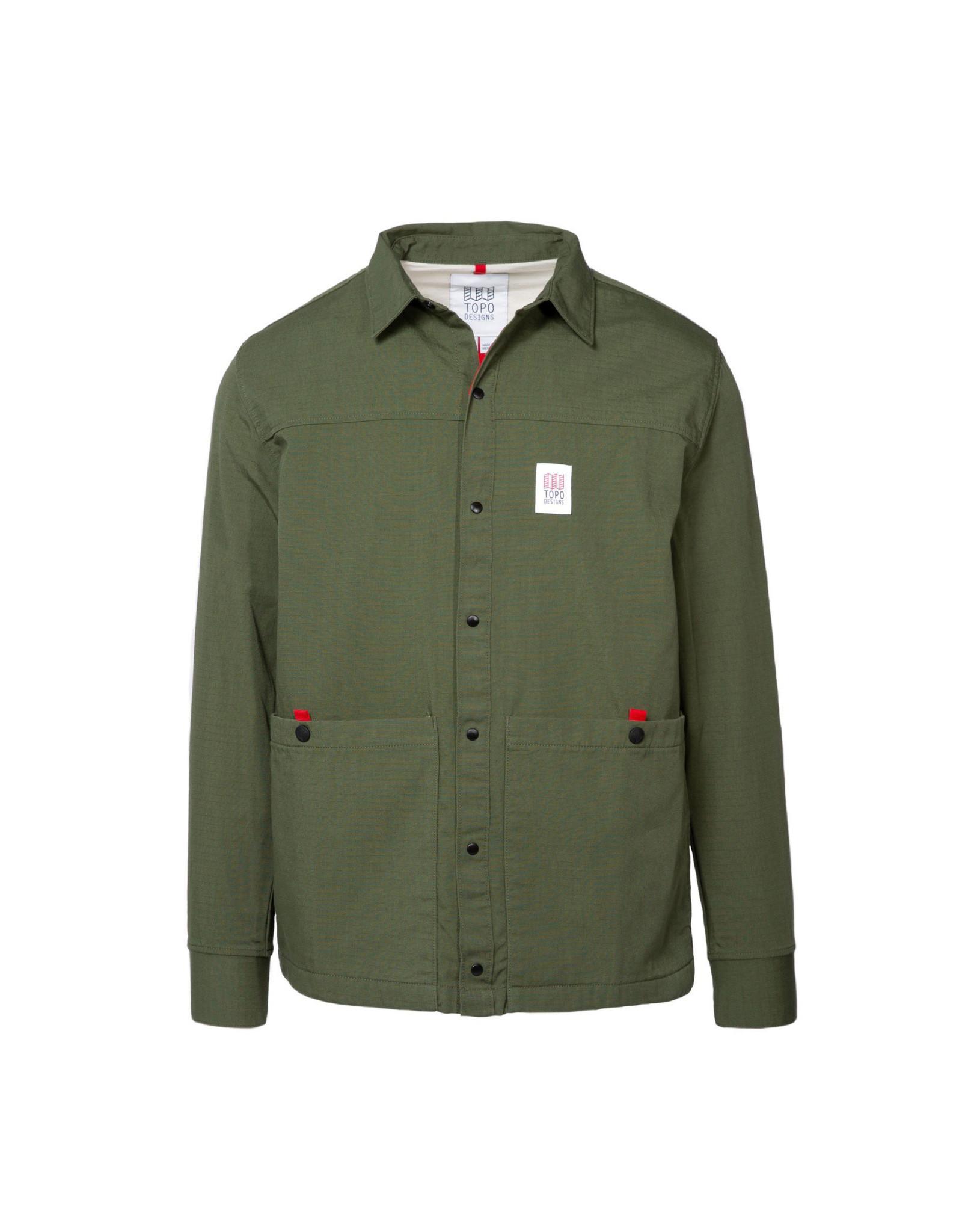 Topo Field Jacket - Olive