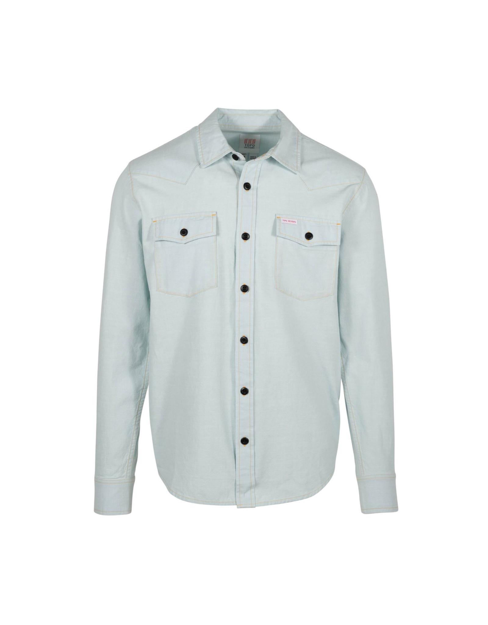 Topo Mountain Shirt - Chambray