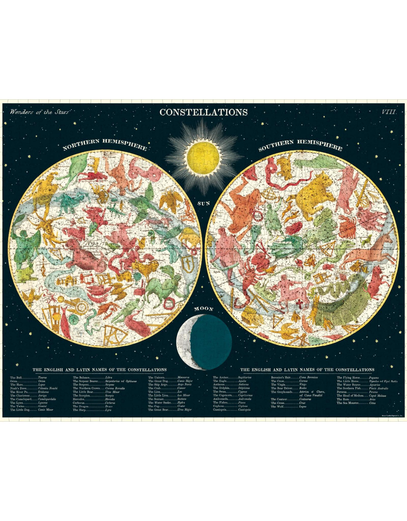 Cavallini Constellations Puzzle