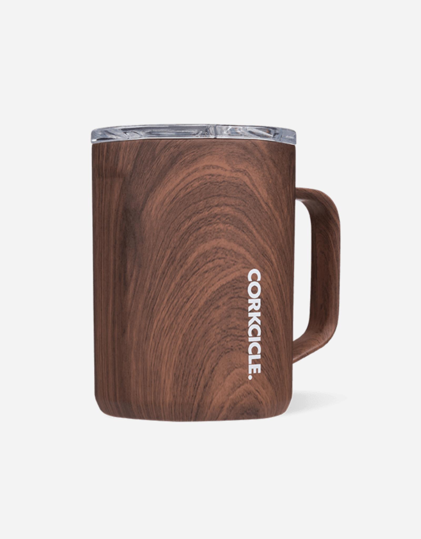 Corkcicle 16oz Mug Walnut Wood