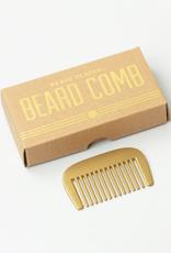 Izola Brass Beard Comb
