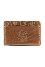 Leather Works Minnesota Union Wallet Coral Saddle Tan