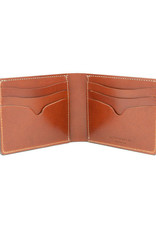 Leather Works Minnesota No. 9 Bifold Wallet Chestnut