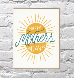 Bench Pressed Mother's Day Sunshine Card