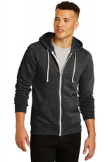 Alternative Apparel Rocky Eco-Fleece Zip Eco Black