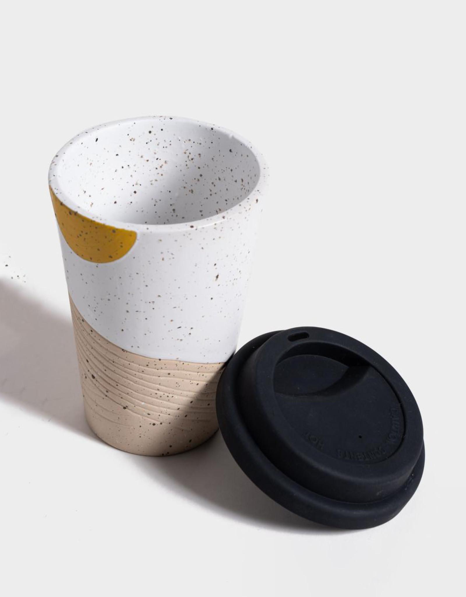United By Blue 12oz  Ceramic Mug w/Lid