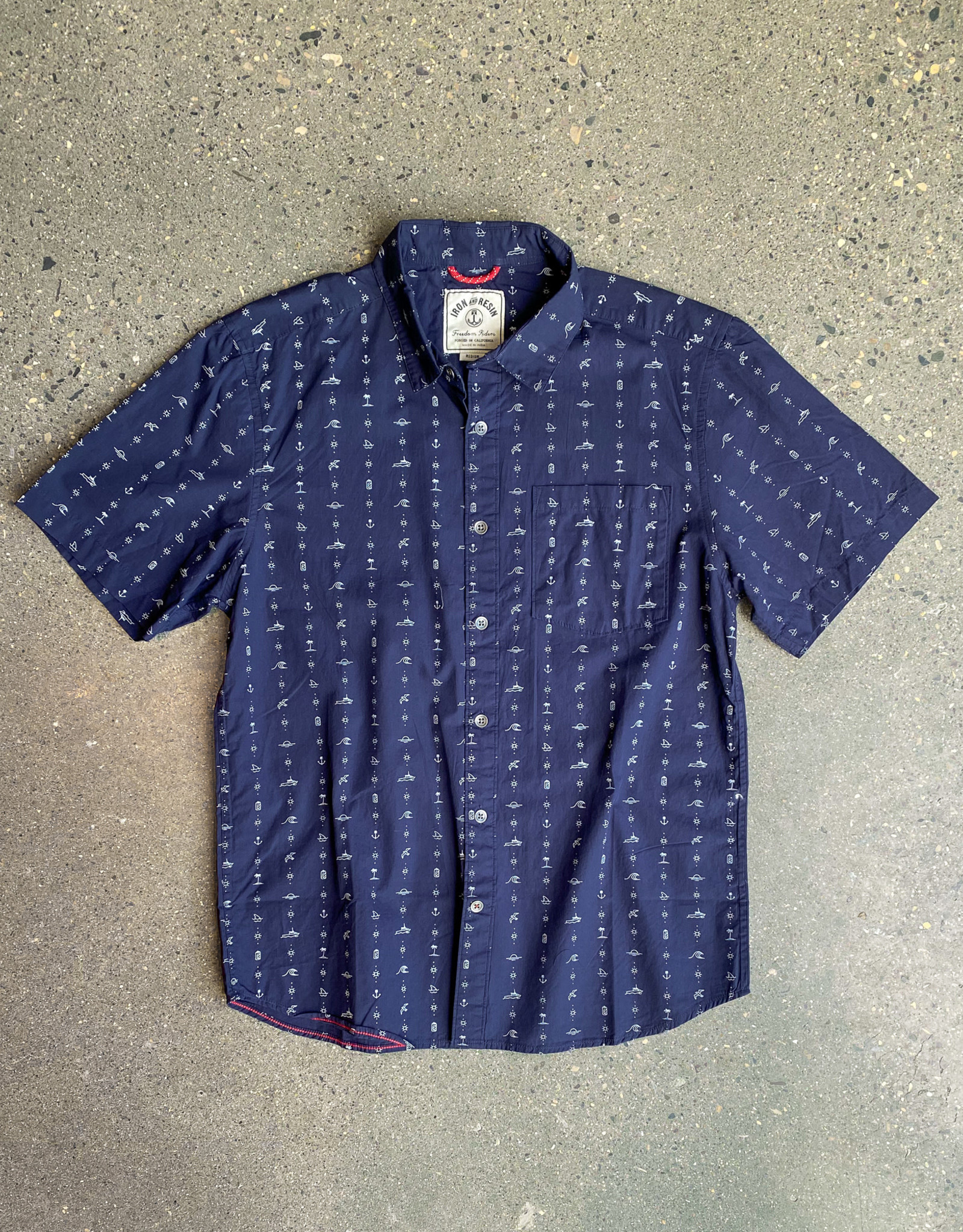 Iron + Resin Wave Searcher Shirt
