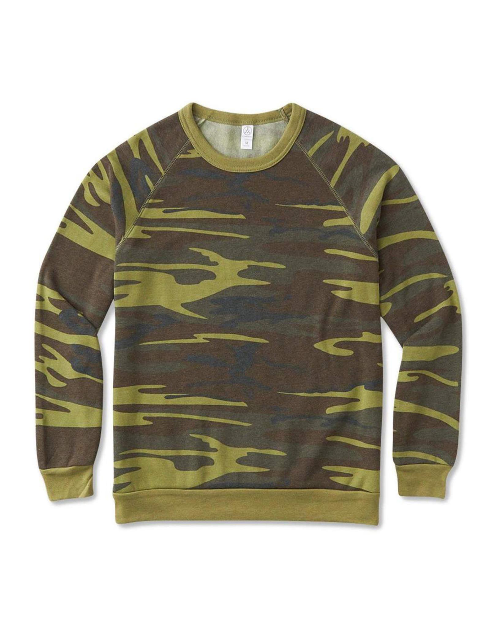 Alternative Apparel Eco-Fleece Champ Sweatshirt - Camo