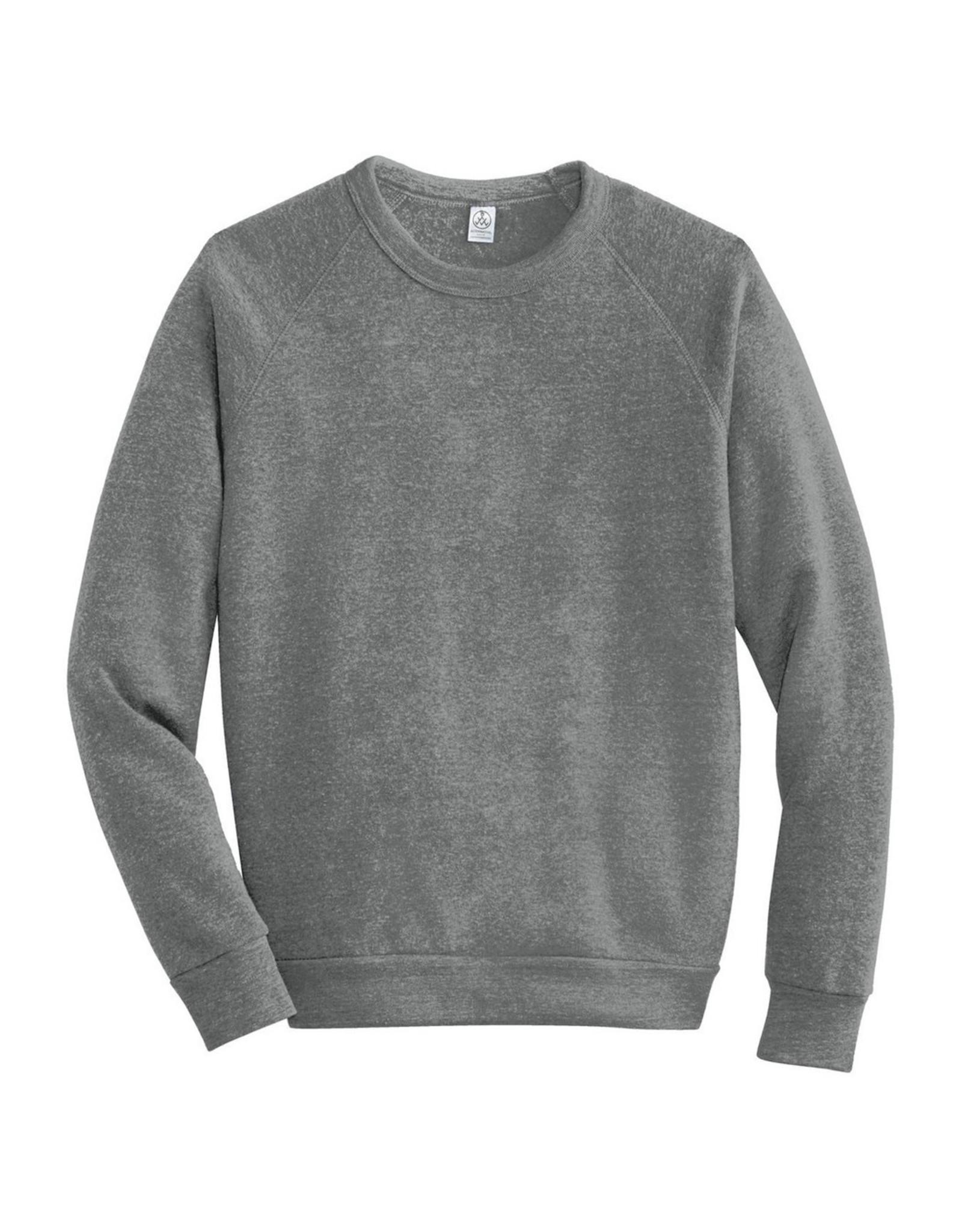 Alternative Apparel Eco-Fleece Champ Sweatshirt - Eco Grey
