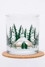 Counter Couture Camping Rocks Glass