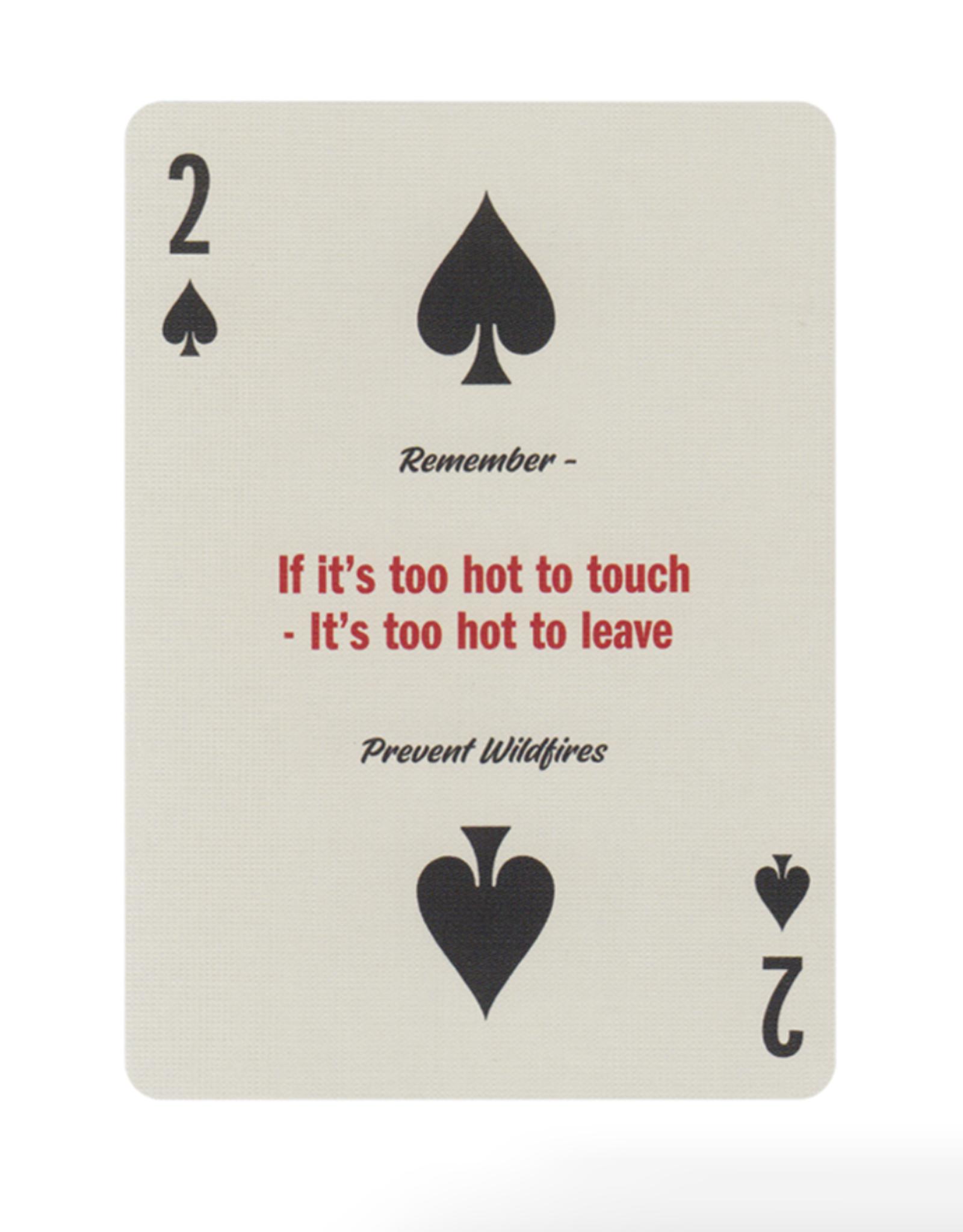 Art of Play Smokey Bear Playing Cards