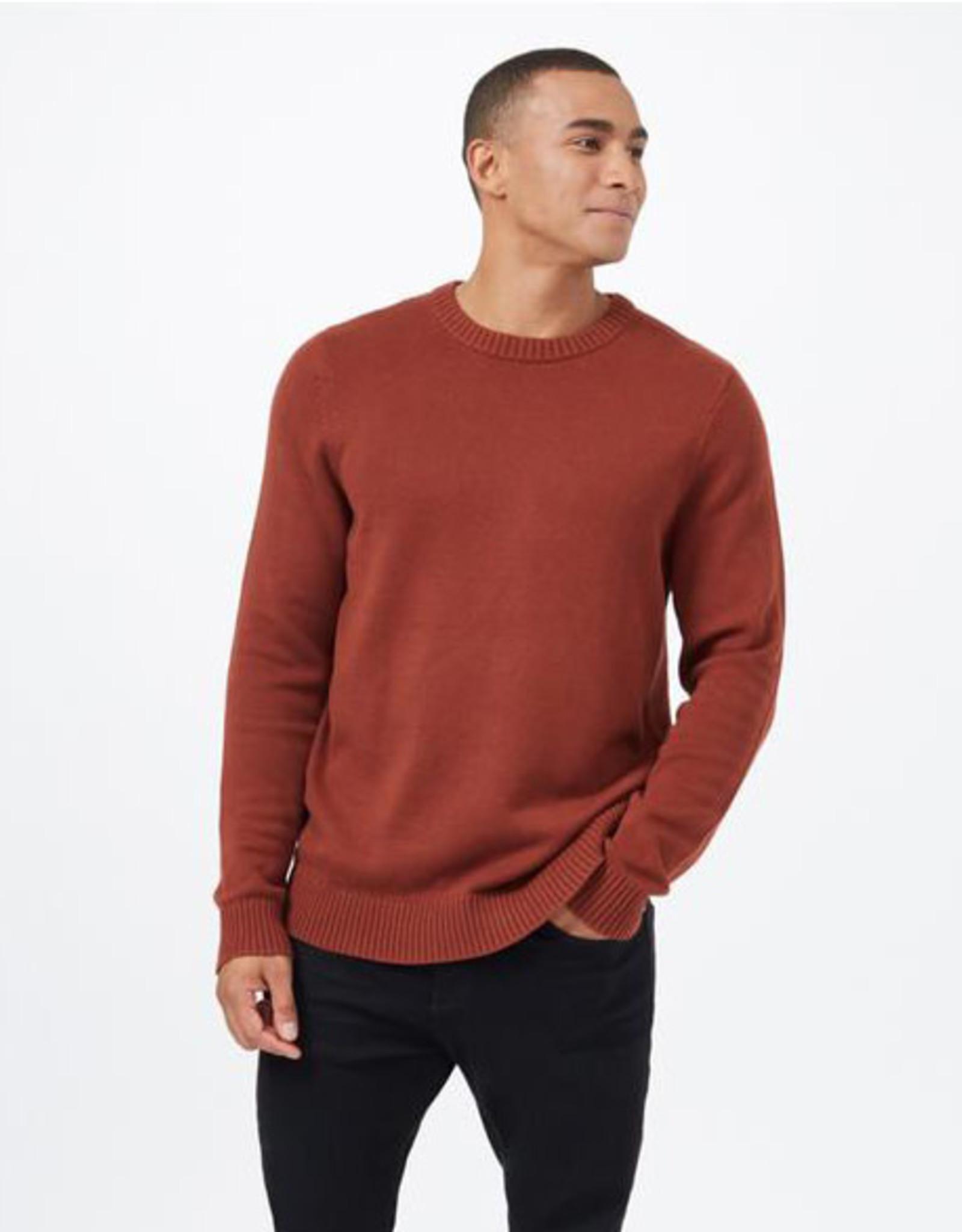 tentree Highline Crew Sweater - Cherry