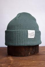 Upstate Stock Eco Cotton Watchcap - Seafoam
