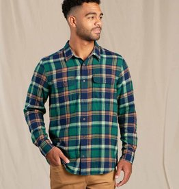 Toad & Co Indigo Flannel Camp Green