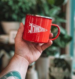 Scout Minnesota Pennant Enamel Mug