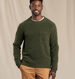 Toad & Co Breithorn Crew Sweater - Olive