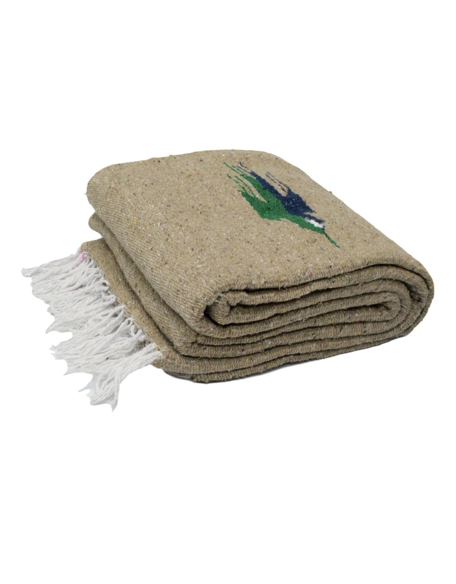 West Path Baja Thunderbird Blanket - Sandstone
