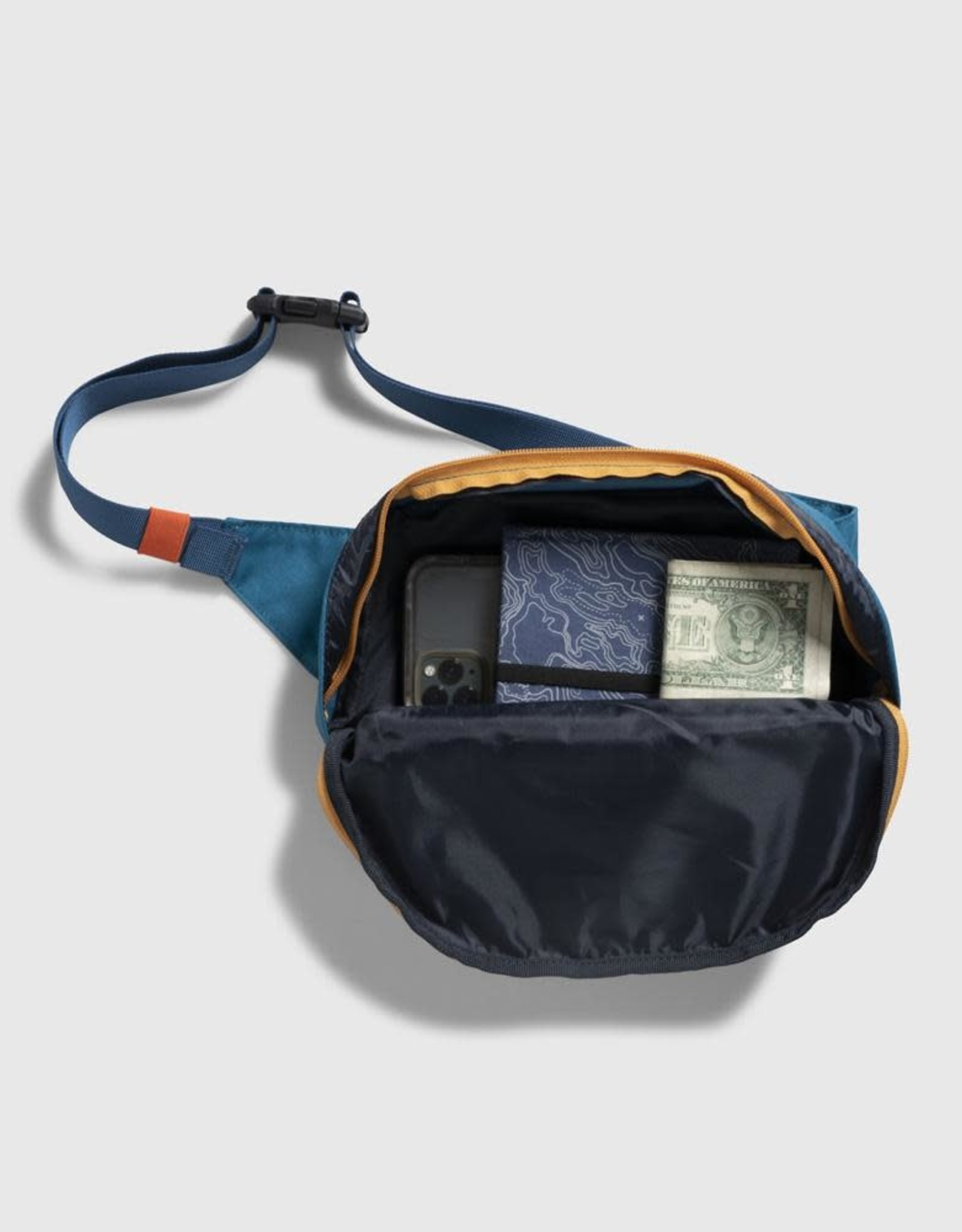 United By Blue Utility Fanny Pack - Alpine Blue