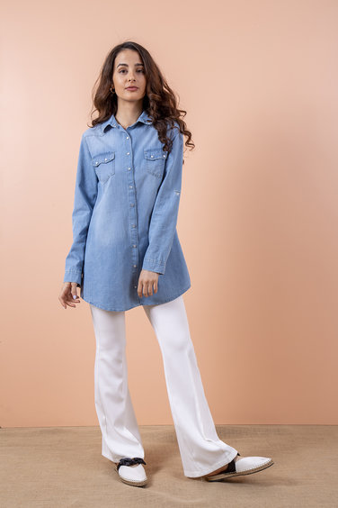 Xexese Jenny Denim Shirt