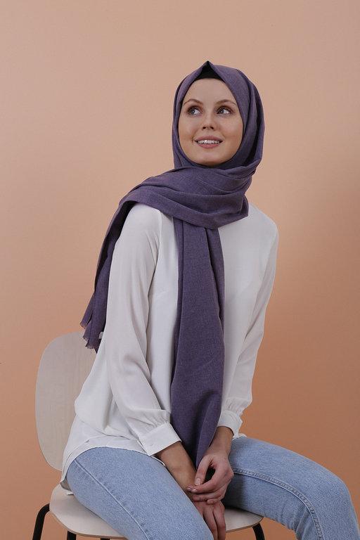 Eyfel Şal Aging Fabric Shawl